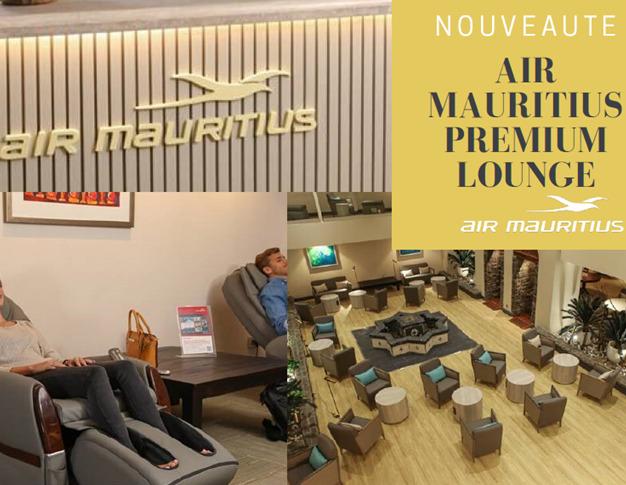 Découvrez le nouveau salon lounge d'Air Mauritius