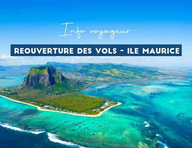 Réouverture des vols - Ile Maurice
